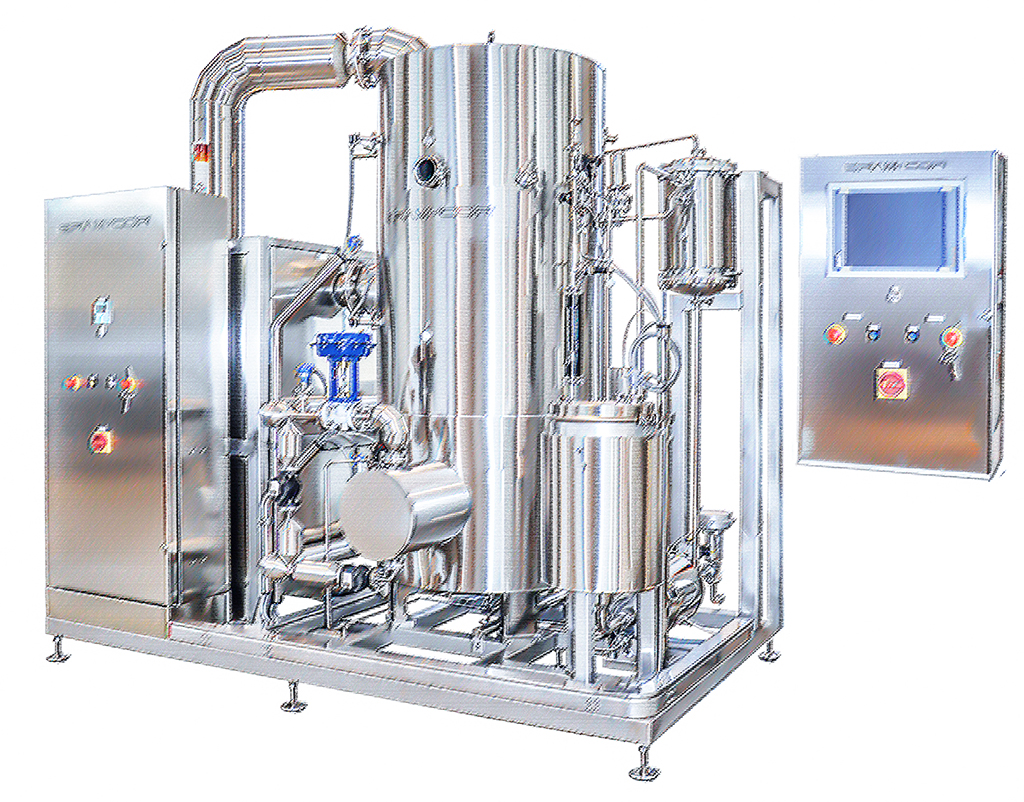 American Pharma Technologies - Vapor Compression Distiller